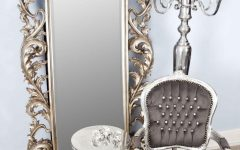 Antique Full Length Wall Mirror