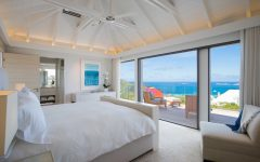 Bedroom With Crisp White Color Palette and Incomparable Ocean