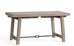 Gray Wash Benchwright Dining Tables
