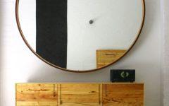 Huge Round Mirror