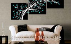 Three Piece Canvas Wall Art