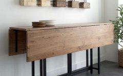 Drop Leaf Extendable Dining Tables