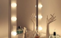 Illuminated Dressing Table Mirror