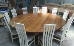 Large Circular Dining Tables
