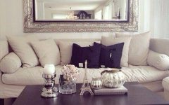 Mirror Above Sofas