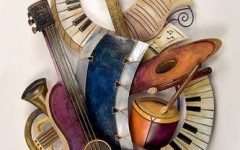 Musical Instrument Wall Art