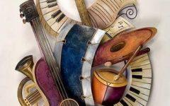 Musical Instrument Wall Art