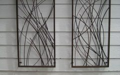 Decorative Outdoor Metal Wall Art
