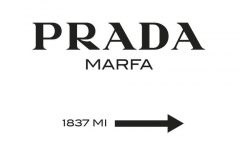 Prada Wall Art