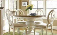 Round Extending Dining Tables Sets