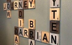 Scrabble Names Wall Art
