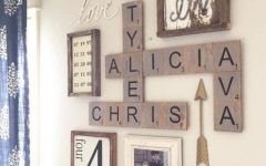 Scrabble Letter Wall Art