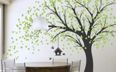Painted Trees Wall Art