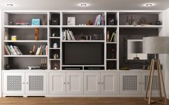 Tv Cabinet and Bookcase