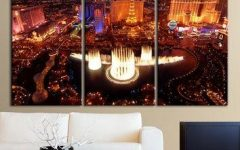 Las Vegas Canvas Wall Art