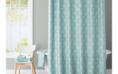 Turquoise Trellis Curtains