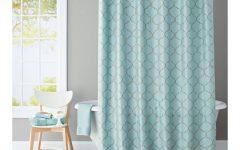 Turquoise Trellis Curtains