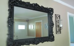Large Black Mirrors for Sale