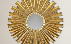 Birksgate Sunburst Accent Mirrors
