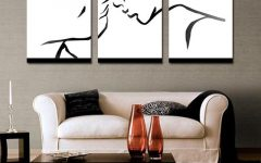Abstract Wall Art for Living Room