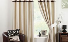 Black and Brown Curtains