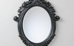 Ornate Oval Mirrors