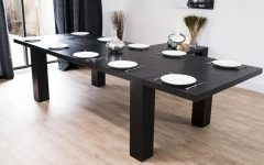 Extending Black Dining Tables