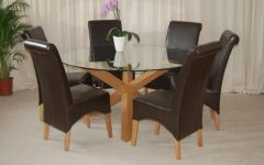 6 Seater Round Dining Tables
