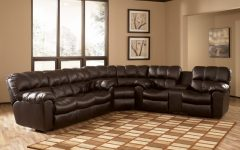 Sectional Sofas With Recliners Leather