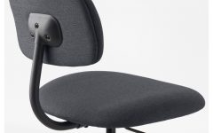 Dark Grey Swivel Chairs