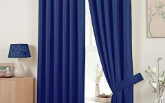 Blue Curtains for Bedroom