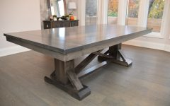 Serrato Pedestal Dining Tables