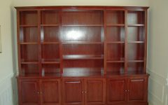 Bookcase With Bottom Cabinets