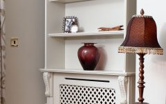 Radiator Cabinet Bookcase