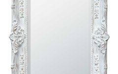 White Antique Mirrors