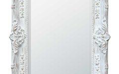 White Antique Mirrors
