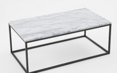 Modern Marble Iron Coffee Tables