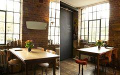 Brick Dining Room Design Idea