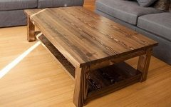 Solid Oak Coffee Tables