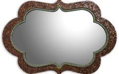 Bronze Mosaic Mirror