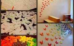 Rainbow Butterfly Wall Art