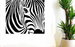 Zebra 3D Wall Art