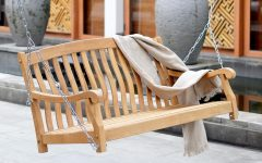 Teak Porch Swings