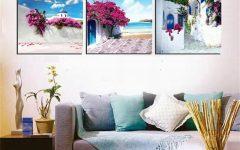 Greece Canvas Wall Art