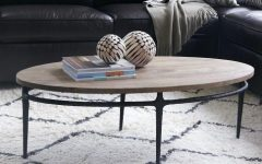 Reclaimed Elm Cast Iron Coffee Tables