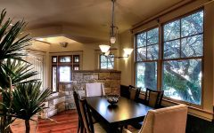 Casual Craftsman Dining Room Remodel With Formal Nuance