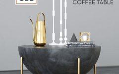 Darbuka Brass Coffee Tables