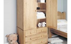 Wardrobe With Drawers and Shelves