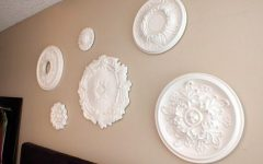White Medallion Wall Art