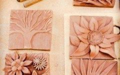 Ceramic Flower Wall Art
